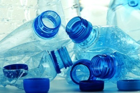 Pile of Plastic Water Bottles