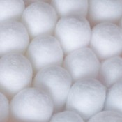 Close-up of Cotton Balls