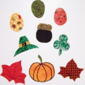 Seasonal Refrigerator Magnets