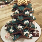 Decorated Cookie Christmas Tree