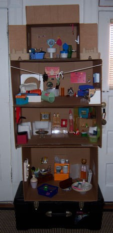 Recycled Doll House
