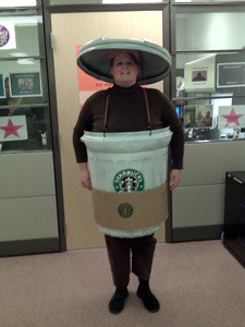 Starbucks Coffee Costume