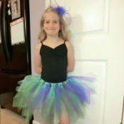 Cute girl in a tutu