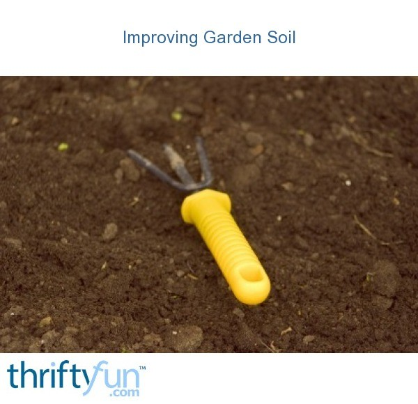 Improving garden soil thriftyfun for Garden soil definition