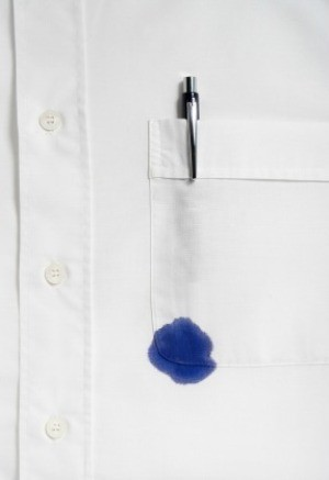 Removing Ink Stains from Clothing