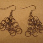 Craft: Jump Ring Earrings