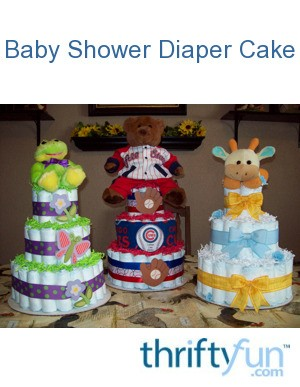 Baby Shower Gifts | Diaper Cake Patterns