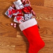 A stocking full of little gifts