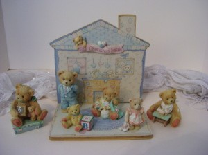 Cherished Teddies figurines.