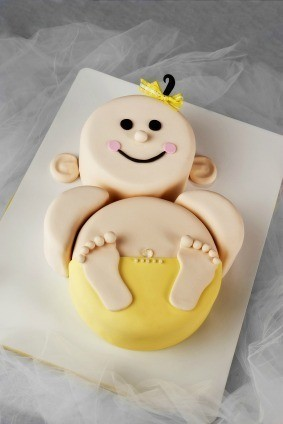 Cake Ideas For New Baby : Baby Shower Cake Ideas ThriftyFun