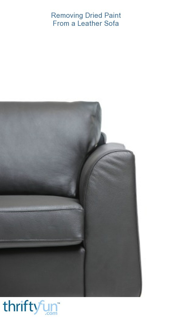Remove Paint From Leather Furniture