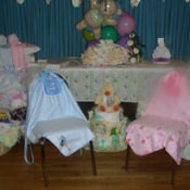 Reusable Baby Shower Decorations