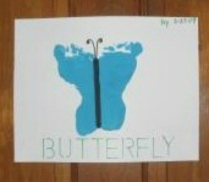 Footprint Butterflies