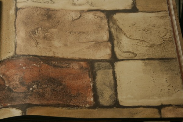 Discontinued wallpaper faux pas stone by blonder thriftyfun for Discontinued wallpaper
