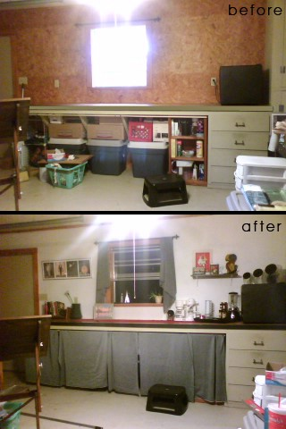 converting a garage into living space thriftyfun. Black Bedroom Furniture Sets. Home Design Ideas