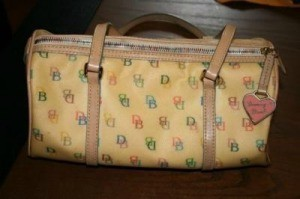 Cleaning a Dooney and Bourke
