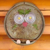 Pizza Pan Owl 1