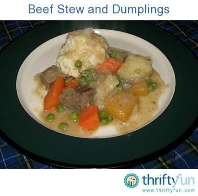 Beef Stew Recipes Thriftyfun