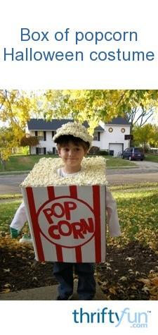 Halloween Box O Popcorn Costume Thriftyfun