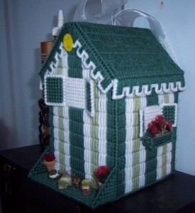 Plastic Canvas Birdhouse