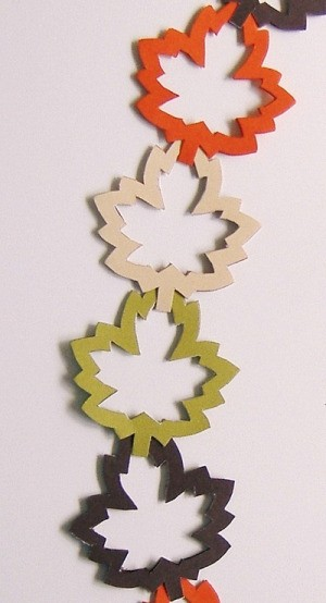 An Autumn Leaf Garland