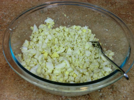 Egg Mixture for Egg Salad Sandwiches