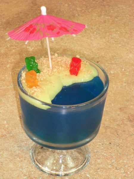 Jello Beach Dessert