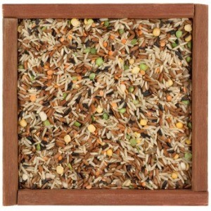 Rice Mix in Wood Box