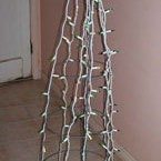 Christmas Tree as a tomato cage