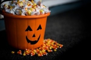 Halloween Taffy and Candy Corn