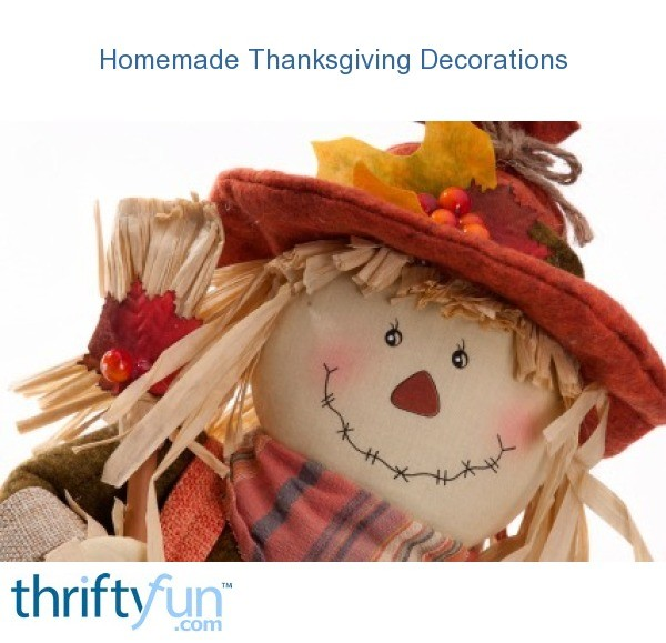 Saving Money On Thanksgiving Decorations Thriftyfun