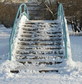Icy Steps