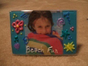 Groovy Picture Frame Craft