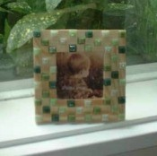 Making a Mosaic Picture Frame