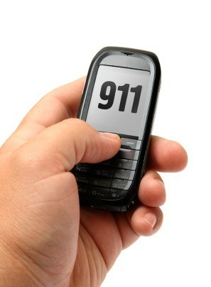 Calling 911 With Cell Phone