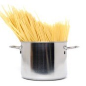 Cooking Pasta in a Stockpot