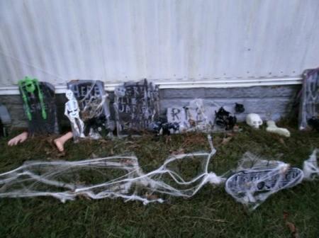 Plywood Halloween Tombstones Thriftyfun