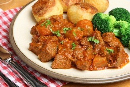 Oven Beef Stew With Vegetables