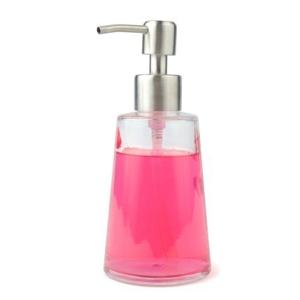 Soap Dispenser With Pink Liquid Soap