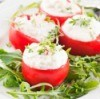 Substitute White Sauce in Stuffed Tomatoes