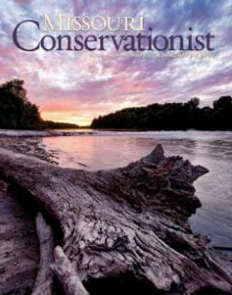 Cover of Missouri Conservationist magazine.