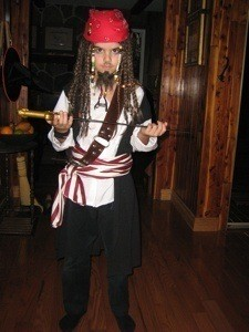 Pirate Costume (Jack Sparrow)