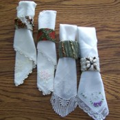 Decorated Napkin Rings