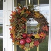 Fall Wreath For Thanksgiving
