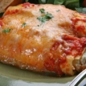 A photo of prepared Manicotti
