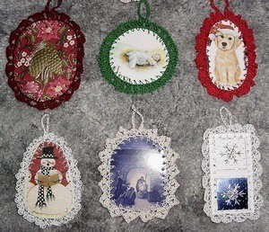 Craft Crochet Patterns : Crocheted Christmas Ornaments ThriftyFun