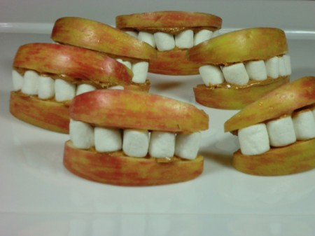 finished apple mouths 2