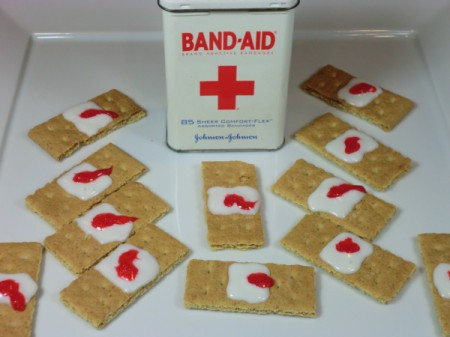 finished band aids