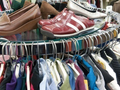 Shoes at a Thrift Stores