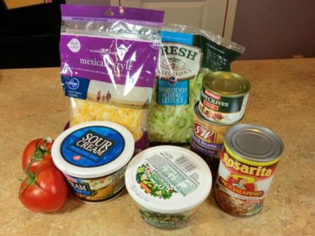 layered dip ingredients